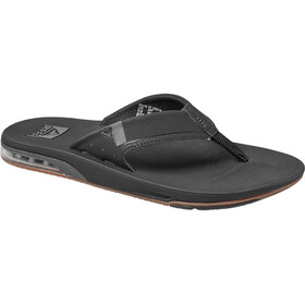 Reef Fanning 2.0 Teenslippers Heren, black